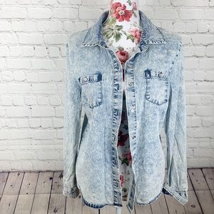Vintage Guess Acid Washed Jacket